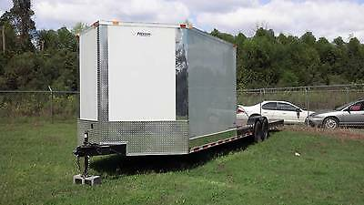 New 2018 8.5 X 30 8.5X30 Hybrid Enclosed & Utility Cargo Car Hauler Trailer