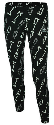 best service 0de24 3f399 Adidas Pharrell Williams HU AOP Leggings Womens Originals Trefoil sport  pants Bl
