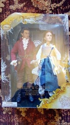 Disney Belle and Gaston Beauty and the Beast live action doll figures