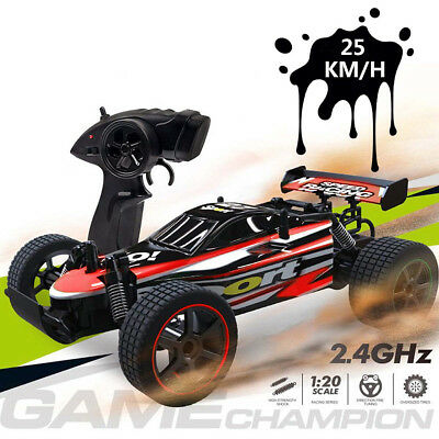 1/20 25km/h 2.4G Electric Remote Control Off Road Car RC High Speed Racing Truck