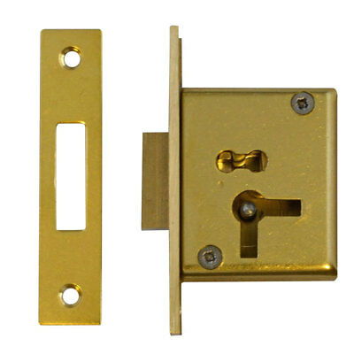 Asec No.15 4 Lever Cut Cupboard Lock 50mm  LH (AS6505)
