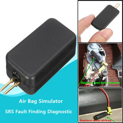 Auto Car SUV Air Bag Airbag Simulator Bypass Garage SRS Fault Diagnostic Tool