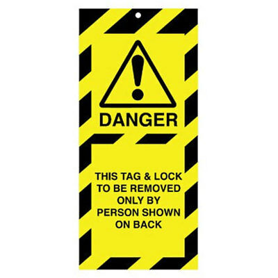 Poly Tag This Tag And Lock 50mm (10) (RLTT03A)