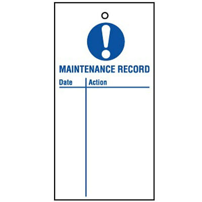 Lockout Tag Maintenance Record (10) (RPT26AR)