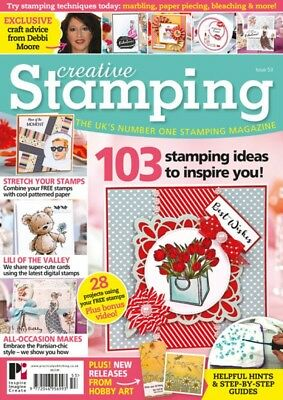 Creative Stamping Magazine Issue 53 with Hello Gorgeous Stamp Collection