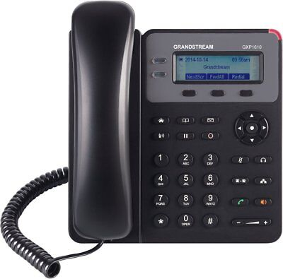 Grandstream Small Business IP phone with Single SIP account GXP1610