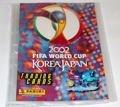 Panini TRADING CARDS World Cup Korea Japan 2002 - COLLECTOR'S BINDER SAMMELMAPPE