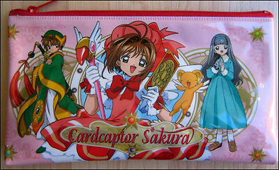 Card Captor Sakura School Pencil Case Bag Pouch CLAMP Double-Side DISCONTINUED!!