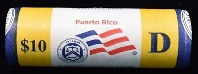 2009-D Puerto Rico State Quarters $10 Mint Wrapped Roll