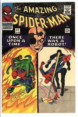 Amazing Spider-Man #37 Vol 1 Near Perfect High Grade 1st App of Norman Osborn