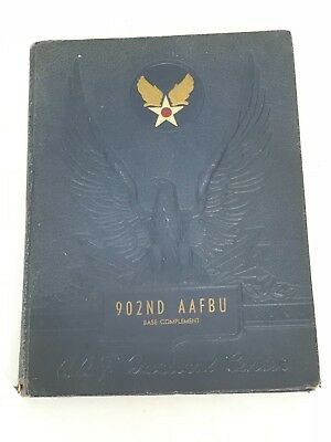WWII US Army Air Forces 902nd AAFBU Orlando Florida Yearbook