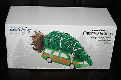 Department 56 National Lampoon Christmas Vacation The Griswold Family Tree NEW
