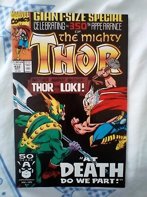 Thor 432 with Journey into Mystery 83 reprint,  1st App of Thor, Giant special