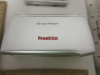 franklin merriam webster speaking dictionary