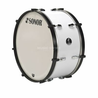 "Sonor Sonor - Marching BassDrum MC 2614 CW 26""x14"", Comfort-Line, White"