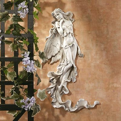 Magical Enchanting Fairy Wall Sculpture Mythical Fairies Decor NEW