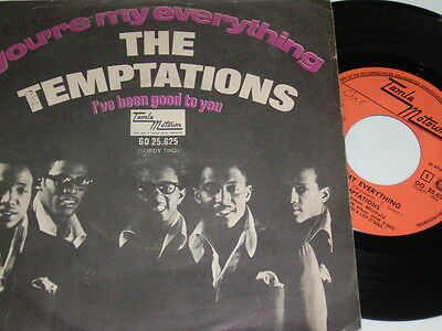"7"" - Temptations You´re my everything & I´ve been good to you - 1967 # 2500"