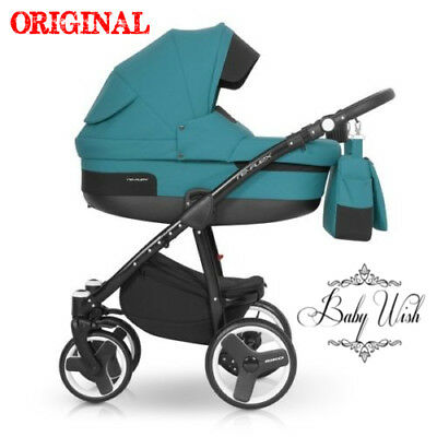 RIKO RE-FLEX PRAM 2in1,3in1 Maxi-Cosi+Isofix+ CARRYCOT+PUSHCHAIR+CAR SEAT extras