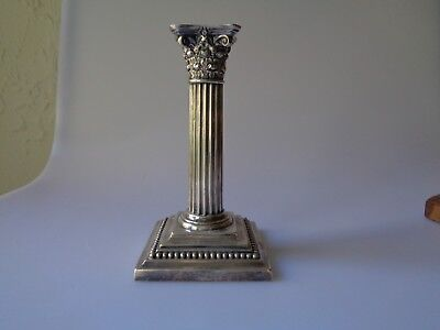 Antique Gorham Corinthian Scroll Silver Soldered 6 Inches Tall Neoclassical Era