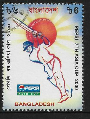 BANGLADESH 2000 PEPSI ASIA CUP CRICKET 1v Used (No.1)