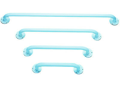 White Plastic Coated Steel Grab Bars (Choose Your Size)