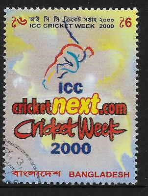 BANGLADESH 2000 ICC CRICKET WEEK 1v Used (No.2)