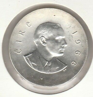 1966 10 Shillings Ireland Easter Uprising Silver Coin