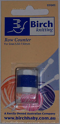 Birch Row Counter For Knitting -  Large