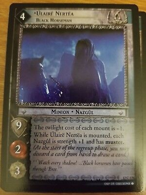 LOTR TCG Ulaire Toldea Messenger of Morgul 1R236 Fellowship of the Ring FOIL NM