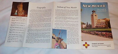 vintage New Mexico The Land of Enchantment Brochure