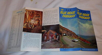 vintage The Blue Ridge Parkway at Craggy Pinnacle North Carolina brochure