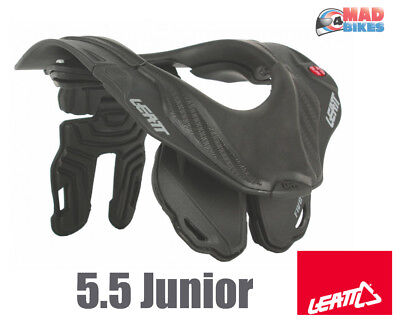 LEATT GPX 5.5 Jr (Kinder) Off-Road Nacken Krause Schwarz Motocross MX Enduro