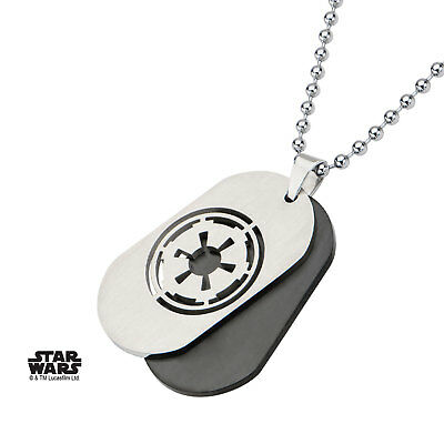 Dog tag Star Wars Empire Officiel SW Galactic Empire Symbol Dog Tag pendant