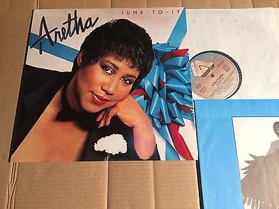 Aretha Franklin - Jump To It - Lp - Europe / Germany 1982 - Ois (Di1337)