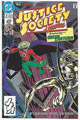 Justice Society of America #3 (VF/NM) 1991