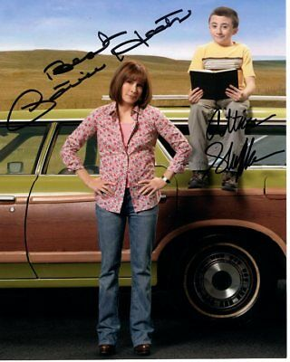 PATRICIA HEATON & ATTICUS SHAFFER signed autographed THE MIDDLE photo