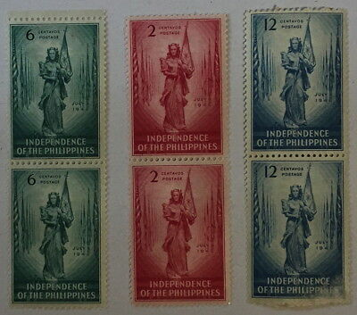 1946 Philippines independance set and first day covers