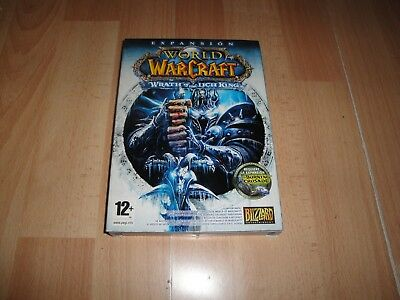 World Of Warcraft Wrath Of The Lich King Expansion De Pc Nuevo Sellado