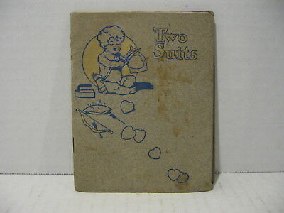 Two Suits - Mini Story Book Advertisement for Kantbebeat Suits - Early 1900s