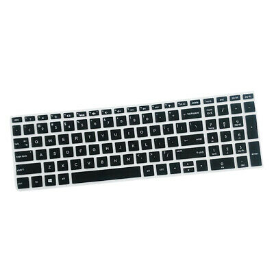 """High invisible Keyboard Protector Skin Cover For HP 15.6"""" BF Laptop Black"""