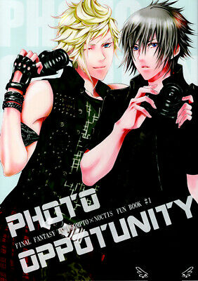 Final Fantasy 15 XV Doujinshi Comic Prompto x Noctis Photo Oppotunity