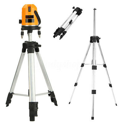 360° Pro Rotary Auto Laser Level Kit Tripod Holder StandFor Self Leveling Laser
