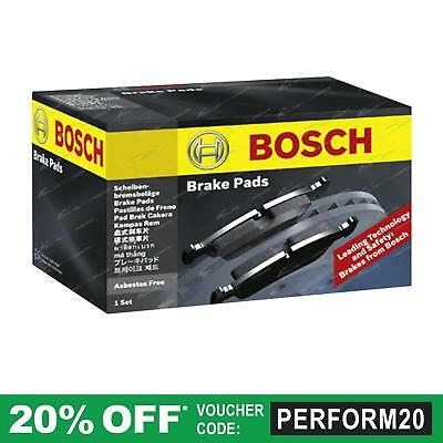 Bosch Front Disc Brake Pads set suits Ford Festiva WB WD WF 1.3L 1.5L 1994~2000