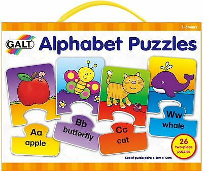Galt PLAY AND LEARN ALPHABET PUZZLE Baby/Toddler/Child Jigsaw Educational BN