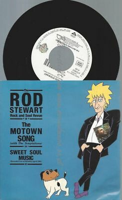 """7""""   The Rod Stewart Rock And Soul Revue  With The Temptations – The Motown Son"""