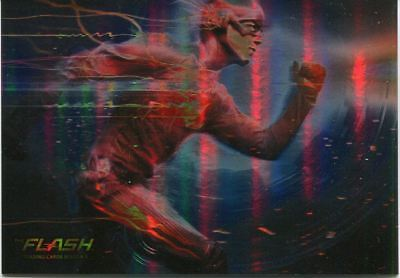 The Flash Season 1 Foil Parallel Base Card #01 Title Card