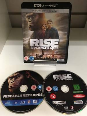 Rise Of The Planet Of The Apes 4K Blu-ray ULTRA HD - Fast and Free Delivery