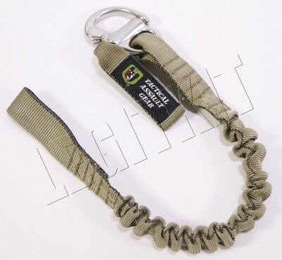 NEW Tactical Assault Gear TAG Personal Retention Lanyard w/ Snap Shackle Tan PRL