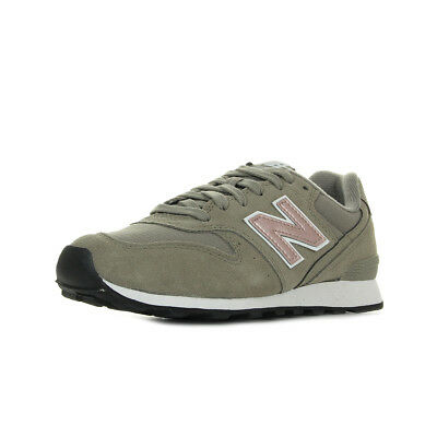 Chaussures Baskets New Balance femme WR996 MO taille Rose Cuir Lacets f4095b069d01