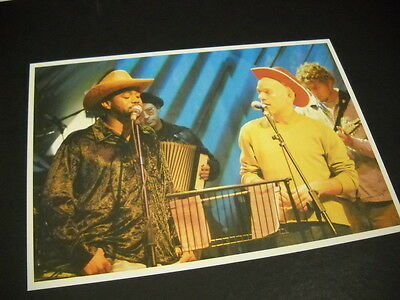 R.E.M. vintage Photo Style DISPLAY IMAGE Michael Stipe in cowboy hat